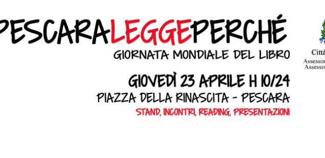 La giornata mondiale del libro, anche a Pescara.