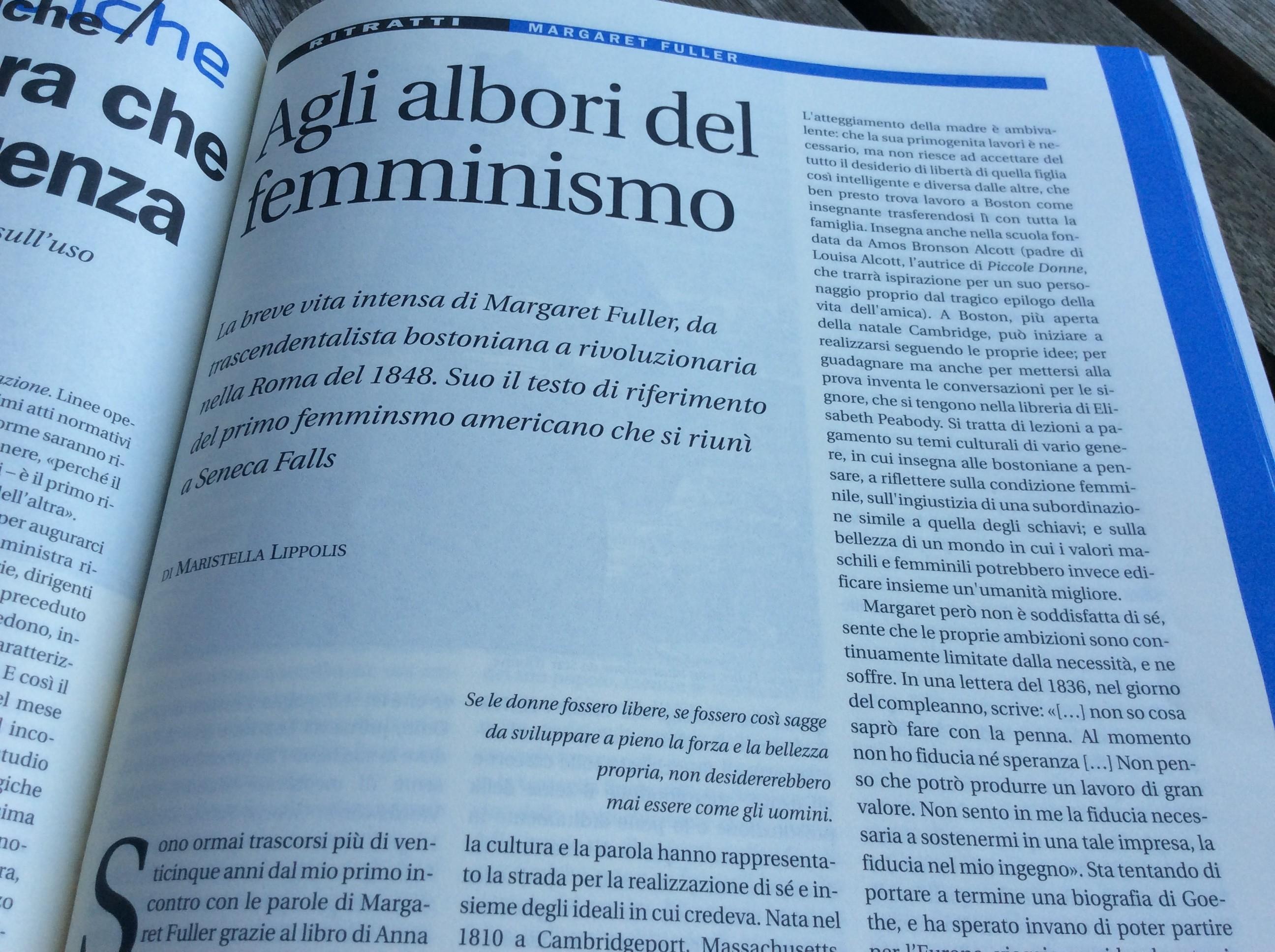 Agli albori del femminismo