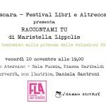 Raccontami tu al Festival Libri e Altrecose di Pescara